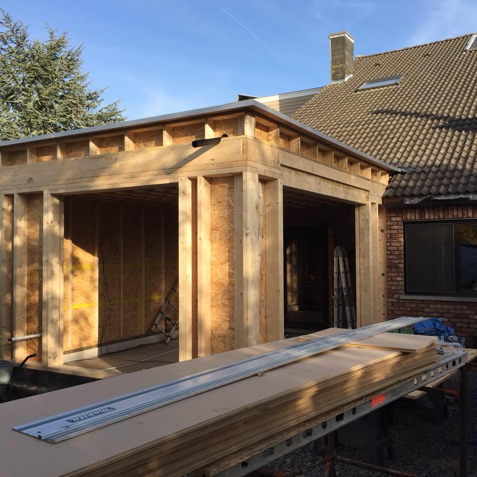 Maison ossature bois | Bois Design | menuisier à Esneux